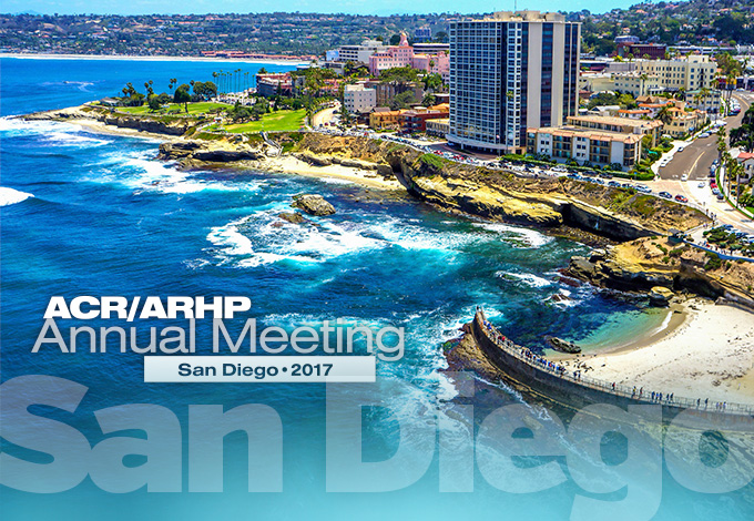 ACR/ARHP Annual Meeting 2017, San Diego, CA