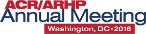 2016 ACR/ARHP Annual Meeting