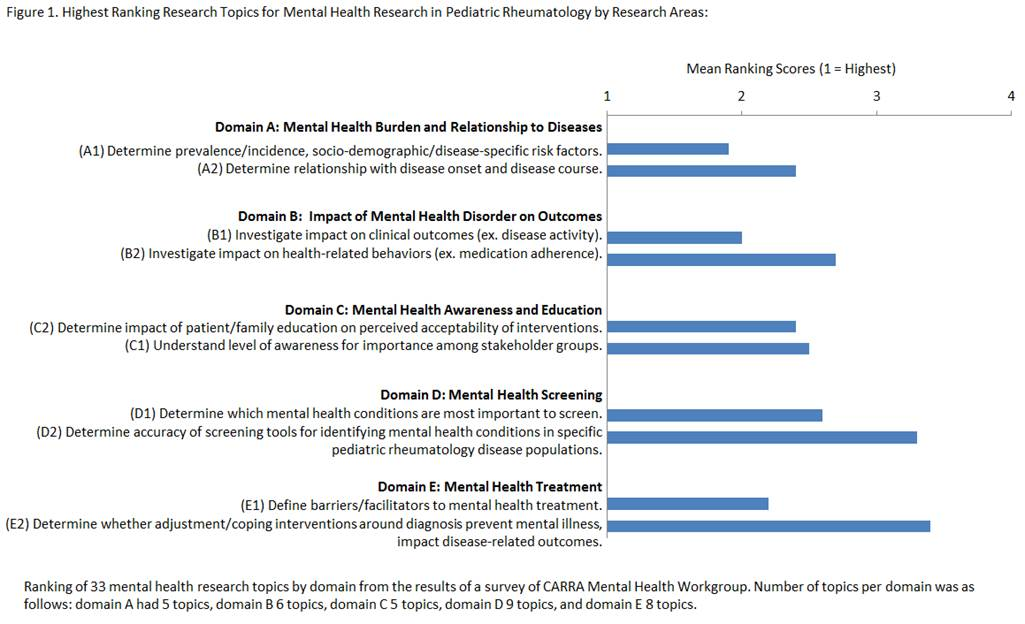 Research Priorities for Addressing Mental Health Needs of